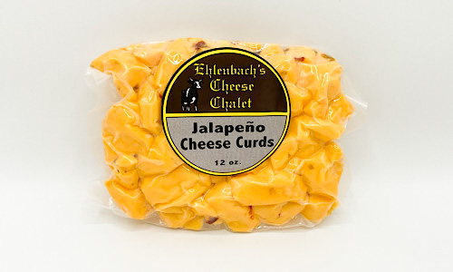 Cheddar Cheese Curds - 12oz. Jalapeno