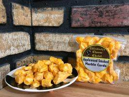 Cheddar Cheese Curds - 8 oz Smoked Marble